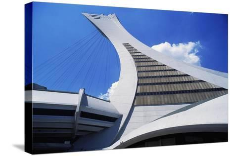 Montreal Tower, Detail from Olympic Stadium--Stretched Canvas Print