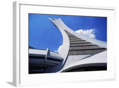 Montreal Tower, Detail from Olympic Stadium--Framed Art Print