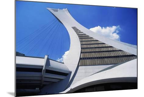Montreal Tower, Detail from Olympic Stadium--Mounted Giclee Print