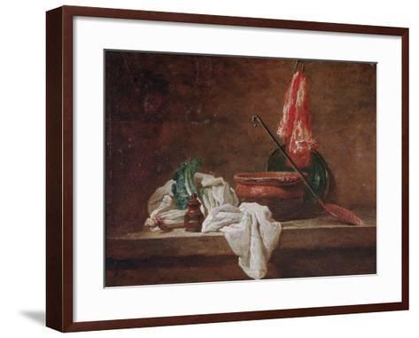 Still Life-Jean-Baptiste Simeon Chardin-Framed Art Print