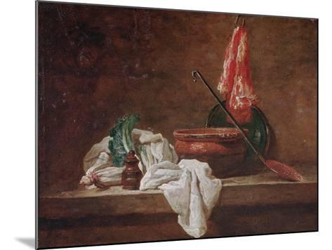 Still Life-Jean-Baptiste Simeon Chardin-Mounted Giclee Print