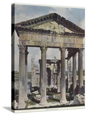 The Capitol in Dougga--Stretched Canvas Print