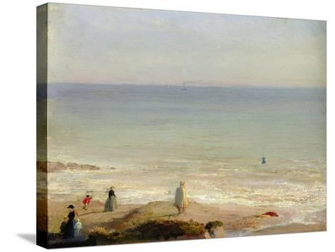 Memory of Langrune, 1865-Leon Cogniet-Stretched Canvas Print