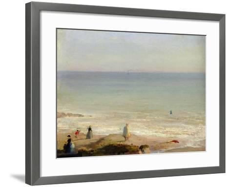Memory of Langrune, 1865-Leon Cogniet-Framed Art Print