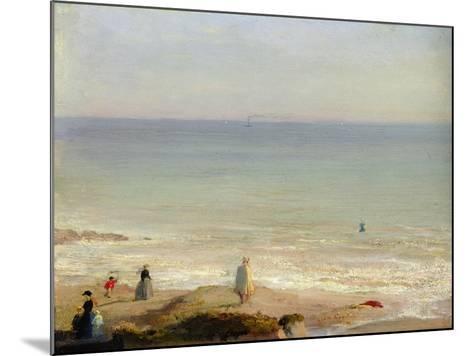Memory of Langrune, 1865-Leon Cogniet-Mounted Giclee Print