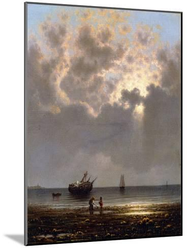 Sun Breaking Through the Clouds-Martin Johnson Heade-Mounted Giclee Print