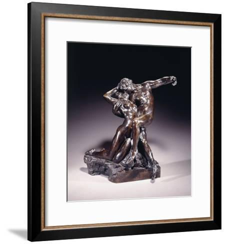 The Eternal Spring, First State, before 1892-Auguste Rodin-Framed Art Print