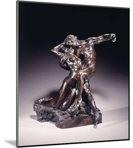 The Eternal Spring, First State, before 1892-Auguste Rodin-Mounted Giclee Print