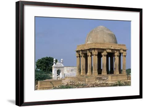 Funeral Monument, Makli Hill Necropolis, Thatta--Framed Art Print