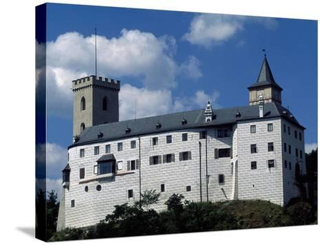 Rozmberk Castle--Stretched Canvas Print