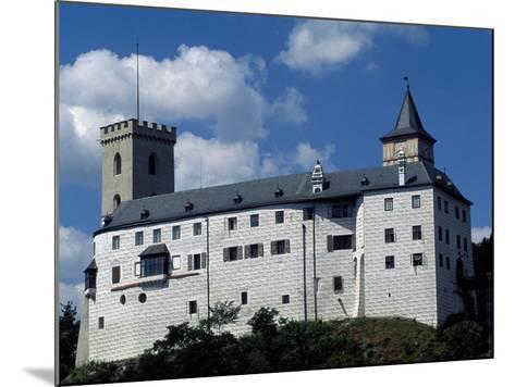 Rozmberk Castle--Mounted Giclee Print
