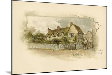 Mary Arden's Cottage--Mounted Giclee Print
