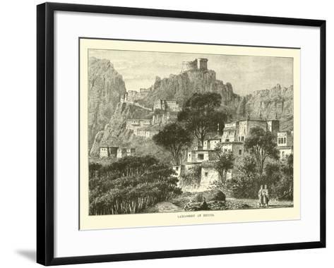 Lamassery at Hernis--Framed Art Print