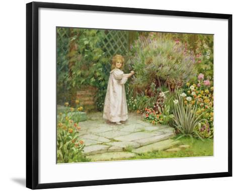 My Garden-William Ashburner-Framed Art Print