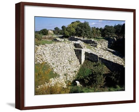 The Access Ramp--Framed Art Print