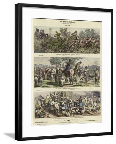 The World in Pictures: German Africa--Framed Art Print