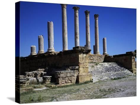 Capitol and Forum--Stretched Canvas Print