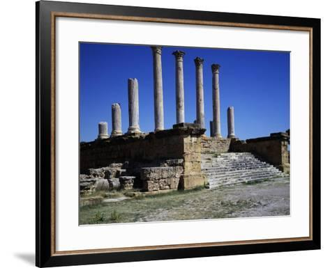Capitol and Forum--Framed Art Print