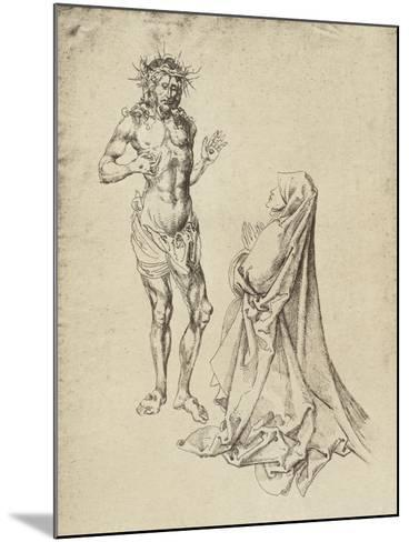 Durer's Christ Appearing to the Virgin Mary-Albrecht D?rer-Mounted Giclee Print