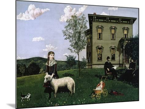 Mourning Picture, 1890-Edwin Romanzo Elmer-Mounted Giclee Print