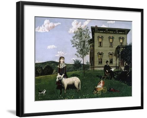 Mourning Picture, 1890-Edwin Romanzo Elmer-Framed Art Print