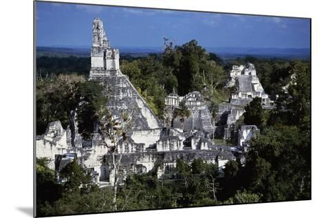 View of Temple V, Tikal National Park--Mounted Photographic Print