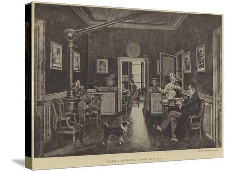 Dining Room--Stretched Canvas Print