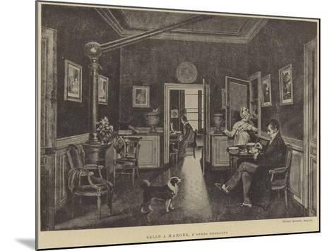 Dining Room--Mounted Giclee Print