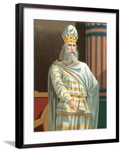 Mithridates--Framed Art Print
