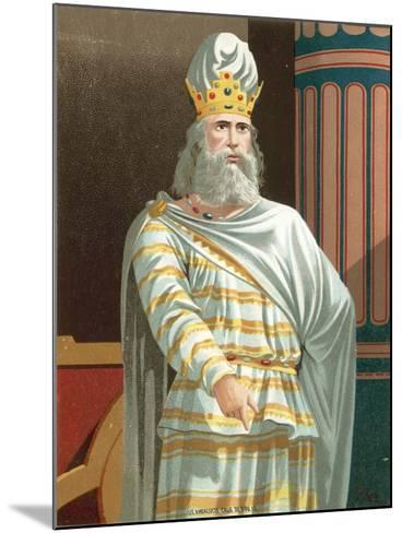 Mithridates--Mounted Giclee Print