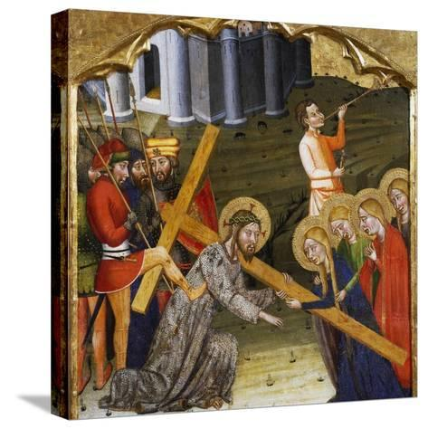 Jesus Carrying the Cross--Stretched Canvas Print