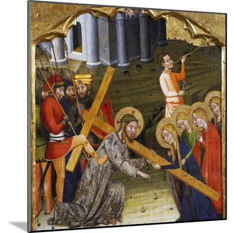 Jesus Carrying the Cross--Mounted Giclee Print