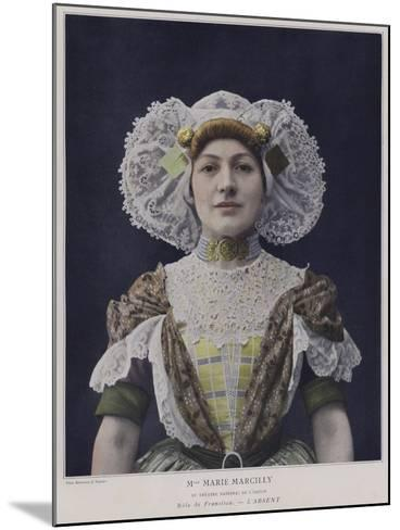 Marie Marcilly as Francisca in L'Absent--Mounted Photographic Print