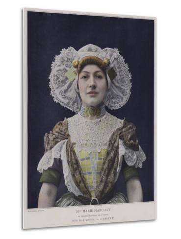 Marie Marcilly as Francisca in L'Absent--Metal Print