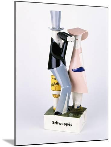 A Carltonware Schweppes Advertising Figure--Mounted Giclee Print