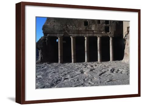 Urn Tomb, Petra--Framed Art Print