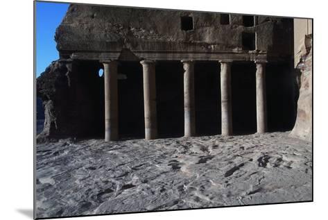 Urn Tomb, Petra--Mounted Photographic Print