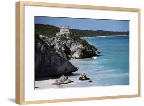 El Castillo--Framed Art Print