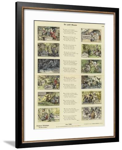The Twelve Months--Framed Art Print