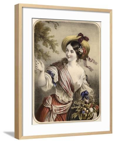 Georgette--Framed Art Print