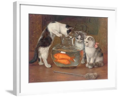A Tempting Treat, 1900-Wilhelm Schwar-Framed Art Print