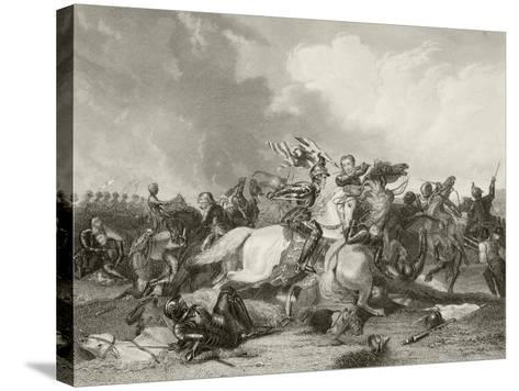 Battle of Bosworth Field--Stretched Canvas Print