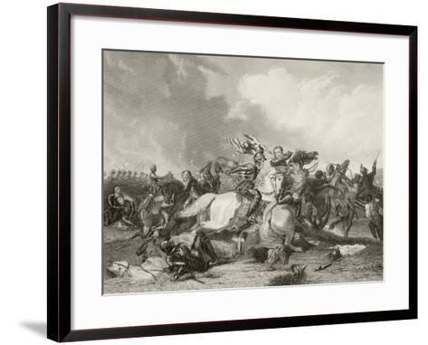 Battle of Bosworth Field--Framed Art Print