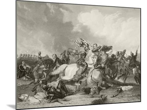 Battle of Bosworth Field--Mounted Giclee Print