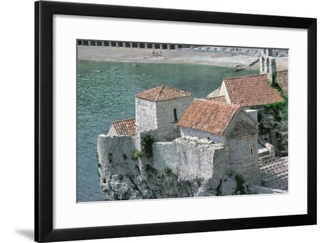 Church of St. Mary in Punta, Built in 1221--Framed Art Print