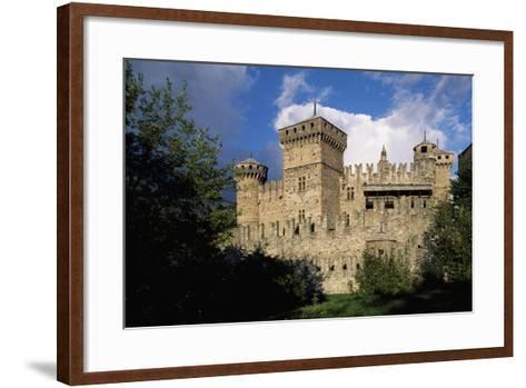 Fenis Castle--Framed Art Print