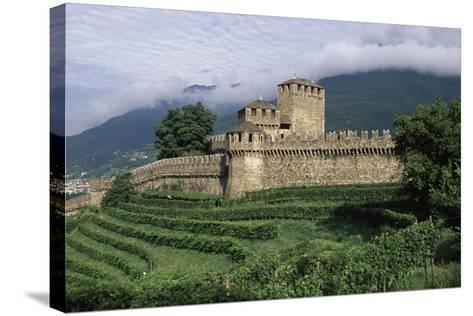 Montebello Castle--Stretched Canvas Print