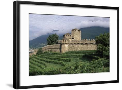 Montebello Castle--Framed Art Print