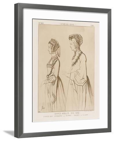 Noble Women, 1510-1520-Raphael Jacquemin-Framed Art Print