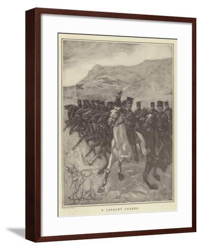 A Cavalry Charge-Fletcher C. Ransom-Framed Art Print